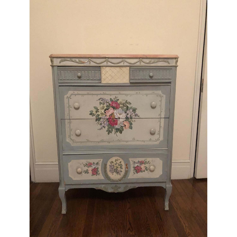 Vintage Hand Painted Dresser-0