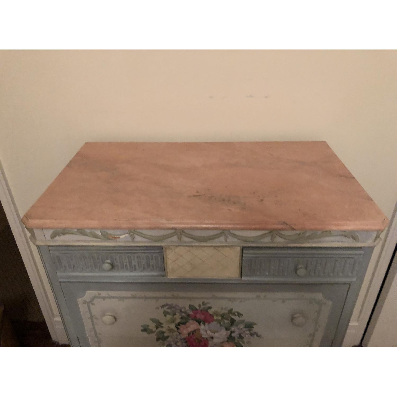 Vintage Hand Painted Dresser-1
