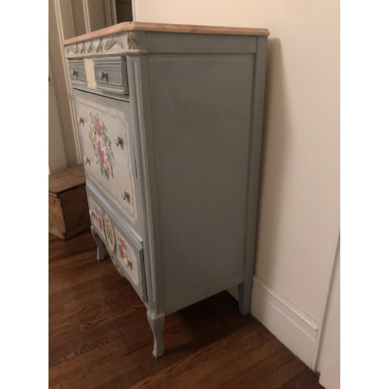 Vintage Hand Painted Dresser-2