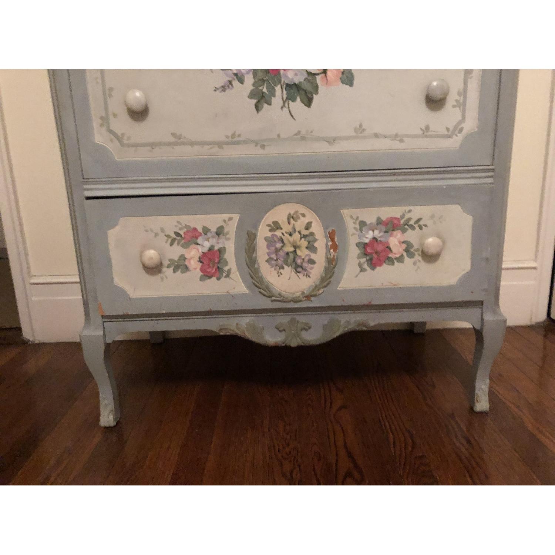 Vintage Hand Painted Dresser-3