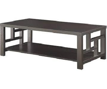 Cappucino Asian Style Coffee Table