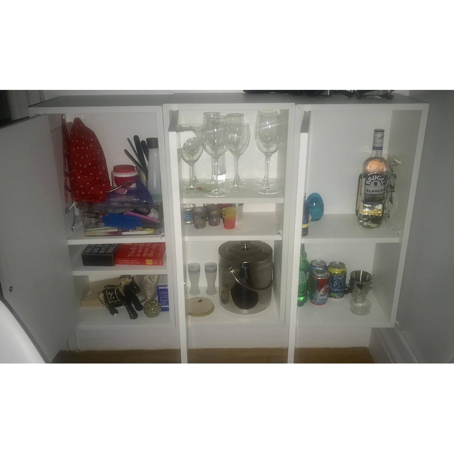 Ikea Eket Cabinet w/ Door & 2 Shelves-2