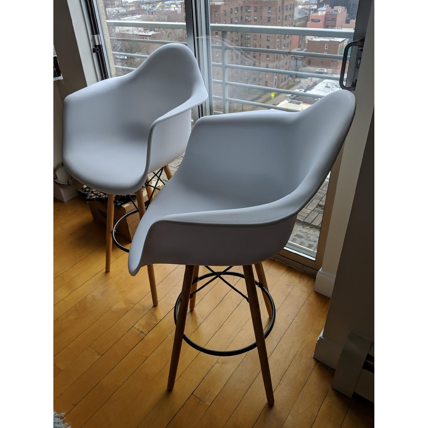Design Tree Home White Eames Style Counter Stools-1