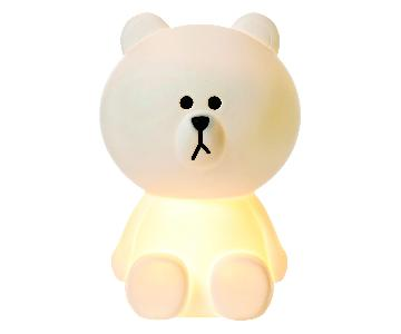 Mr. Maria XL Brown Bear Lamp