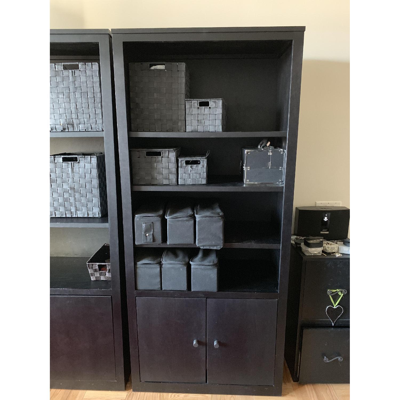 Room & Board Woodwind Black Maple Wood Bookcase-0