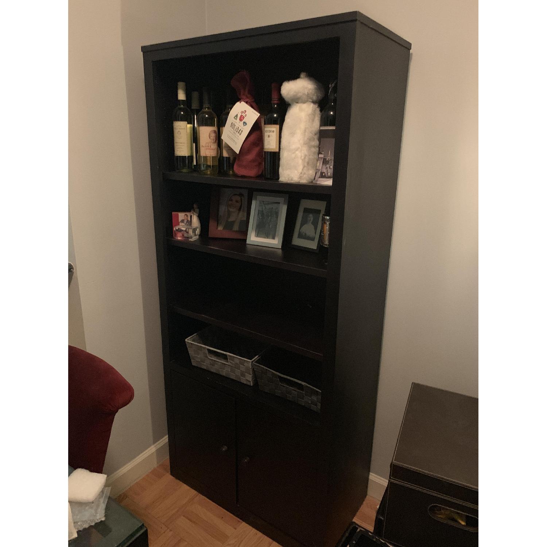 Room & Board Woodwind Black Maple Wood Bookcase-2