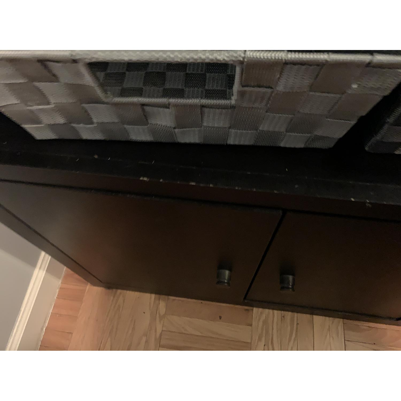 Room & Board Woodwind Black Maple Wood Bookcase-4
