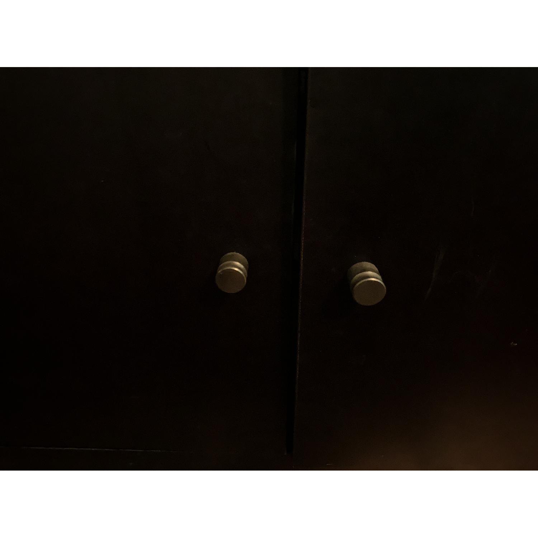 Room & Board Woodwind Black Maple Wood Bookcase-9
