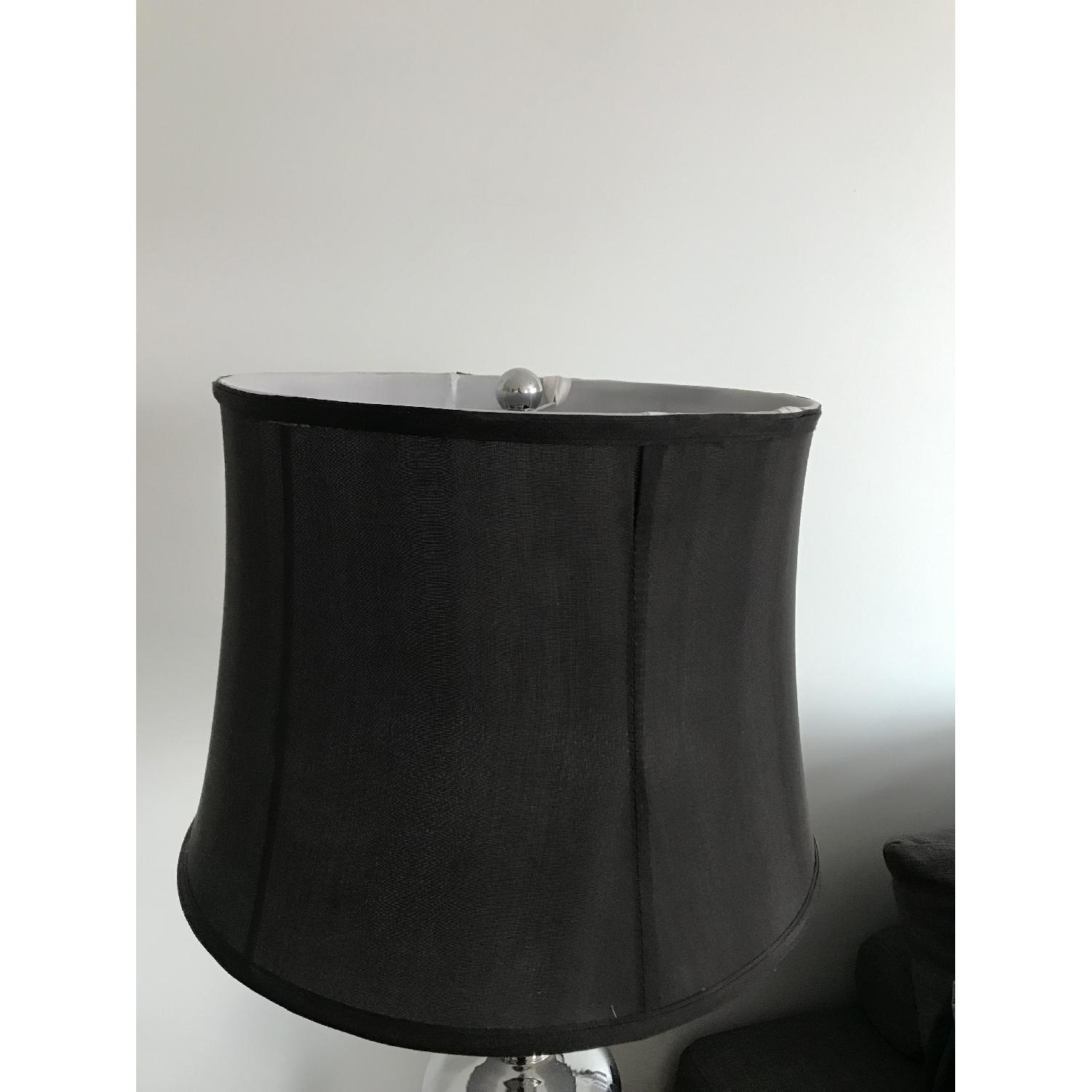 Three Hands Mod Black & Silver Table Lamp-3