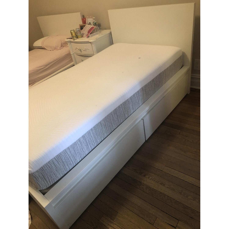 Ikea Malm Twin Size Bed Frame-1