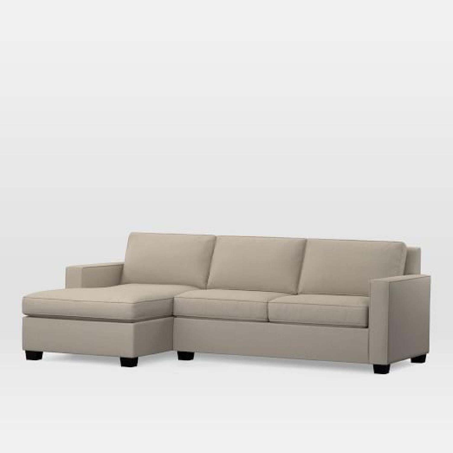 West Elm Henry 2-Piece Chaise Sectional Sofa-3