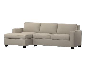 West Elm Henry 2-Piece Chaise Sectional Sofa