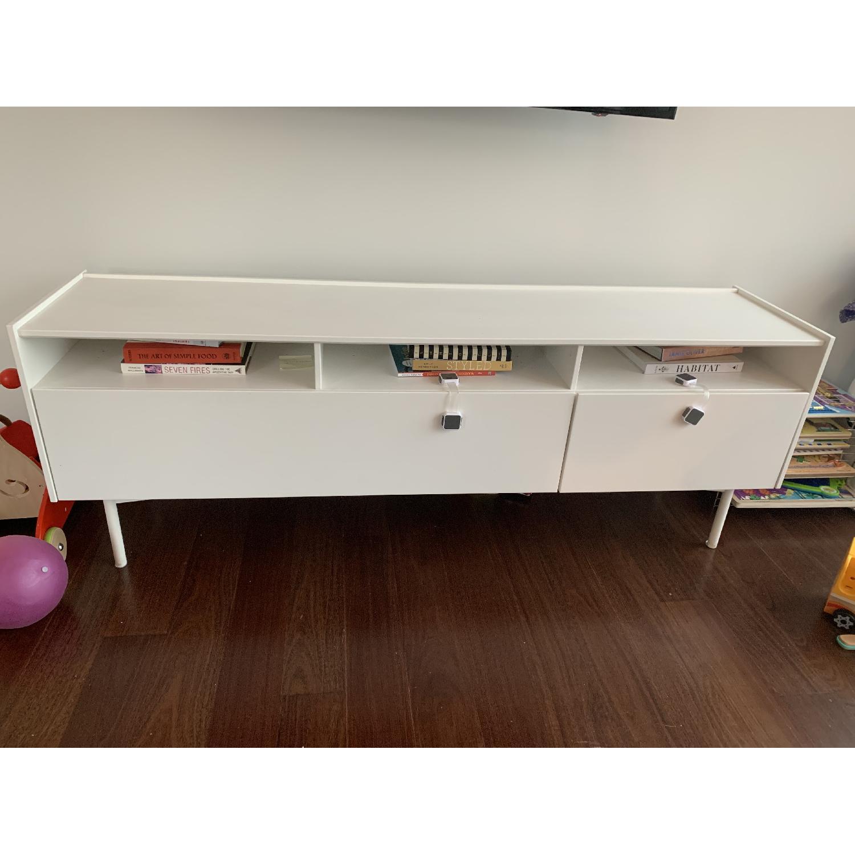 Ikea Ramsatra White TV Stand-0