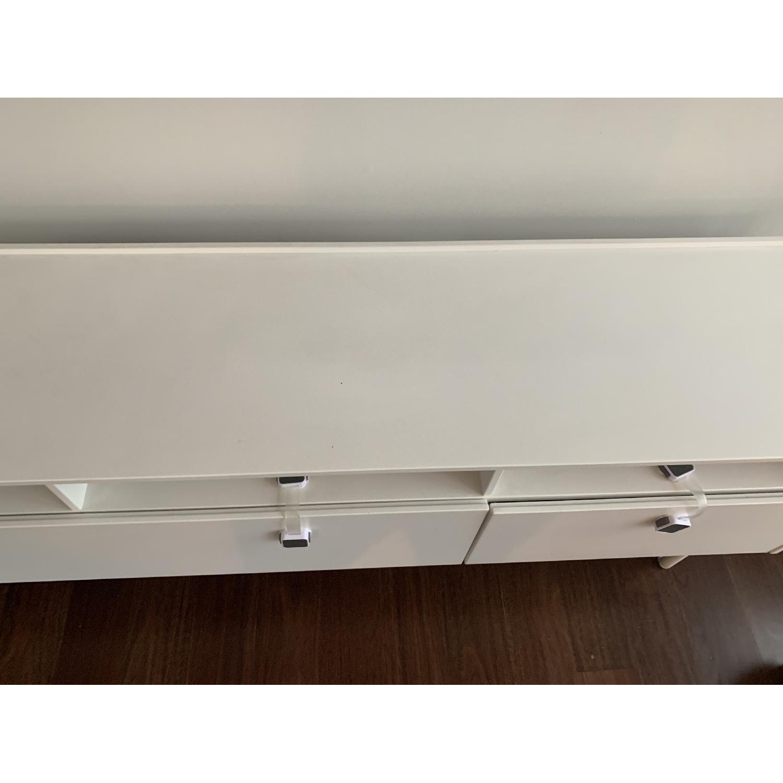 Ikea Ramsatra White TV Stand-1