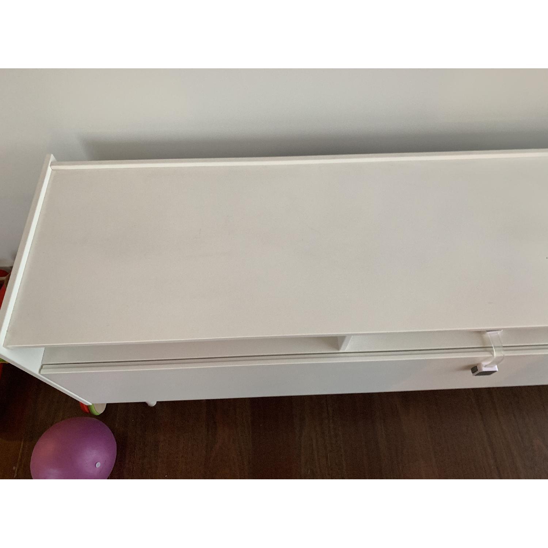 Ikea Ramsatra White TV Stand-2
