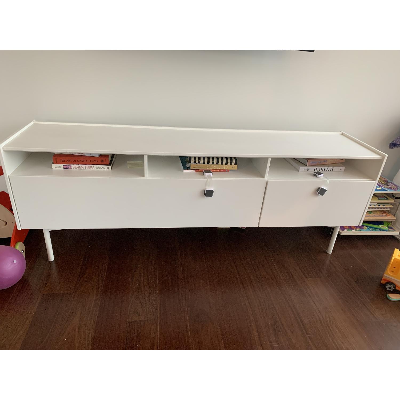 Ikea Ramsatra White TV Stand-3