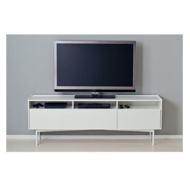 Ikea Ramsatra White TV Stand-4