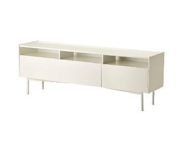 Ikea Ramsatra White TV Stand
