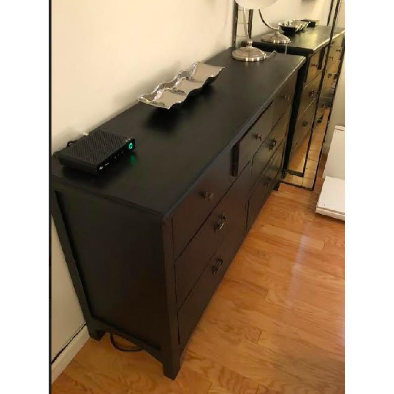 Black Wood Dresser-1
