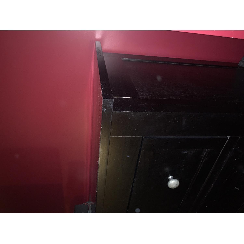 Room & Board Lasalle Black Solid Wood 5-Drawer Dresser-5