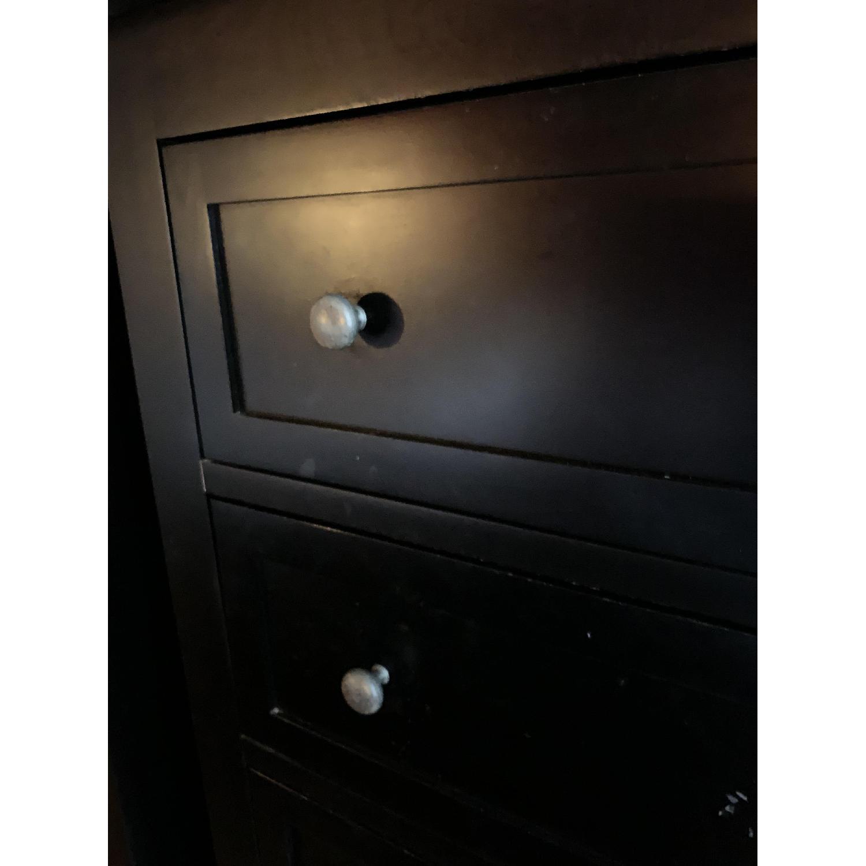 Room & Board Lasalle Black Solid Wood 5-Drawer Dresser-18