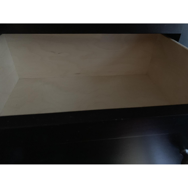 Room & Board Lasalle Black Solid Wood 5-Drawer Dresser-19