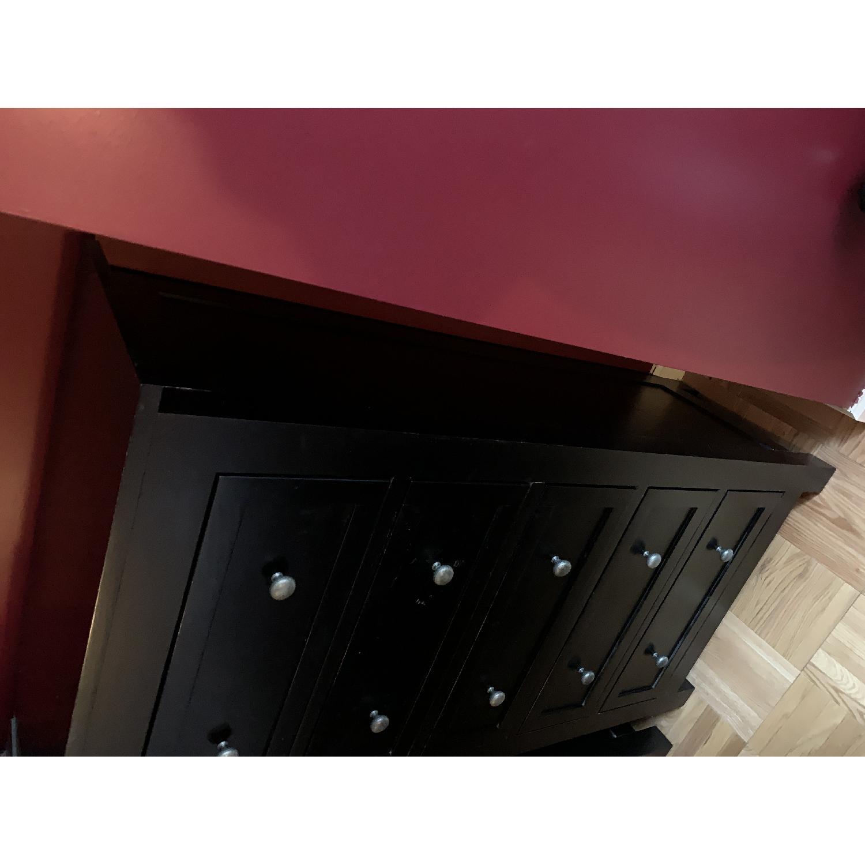 Room & Board Lasalle Black Solid Wood 5-Drawer Dresser-23