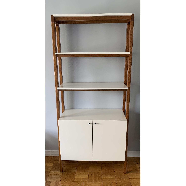 West Elm Modern Cabinet Bookcase-0