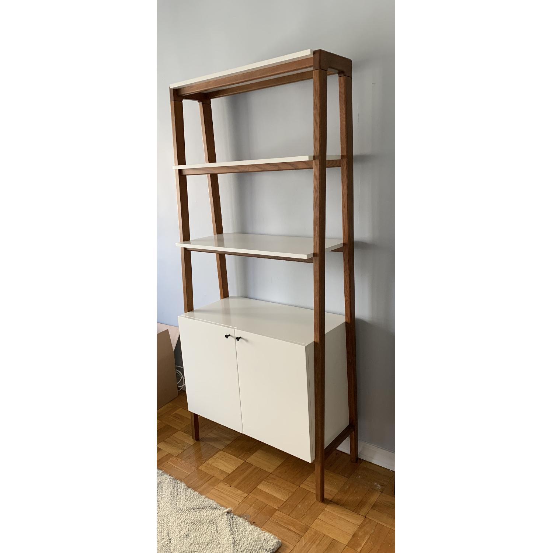 West Elm Modern Cabinet Bookcase-1