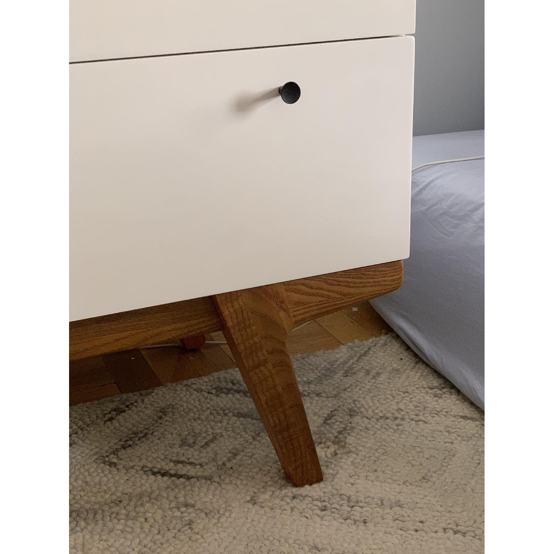 West Elm White Modern 3-Drawer Dresser-3