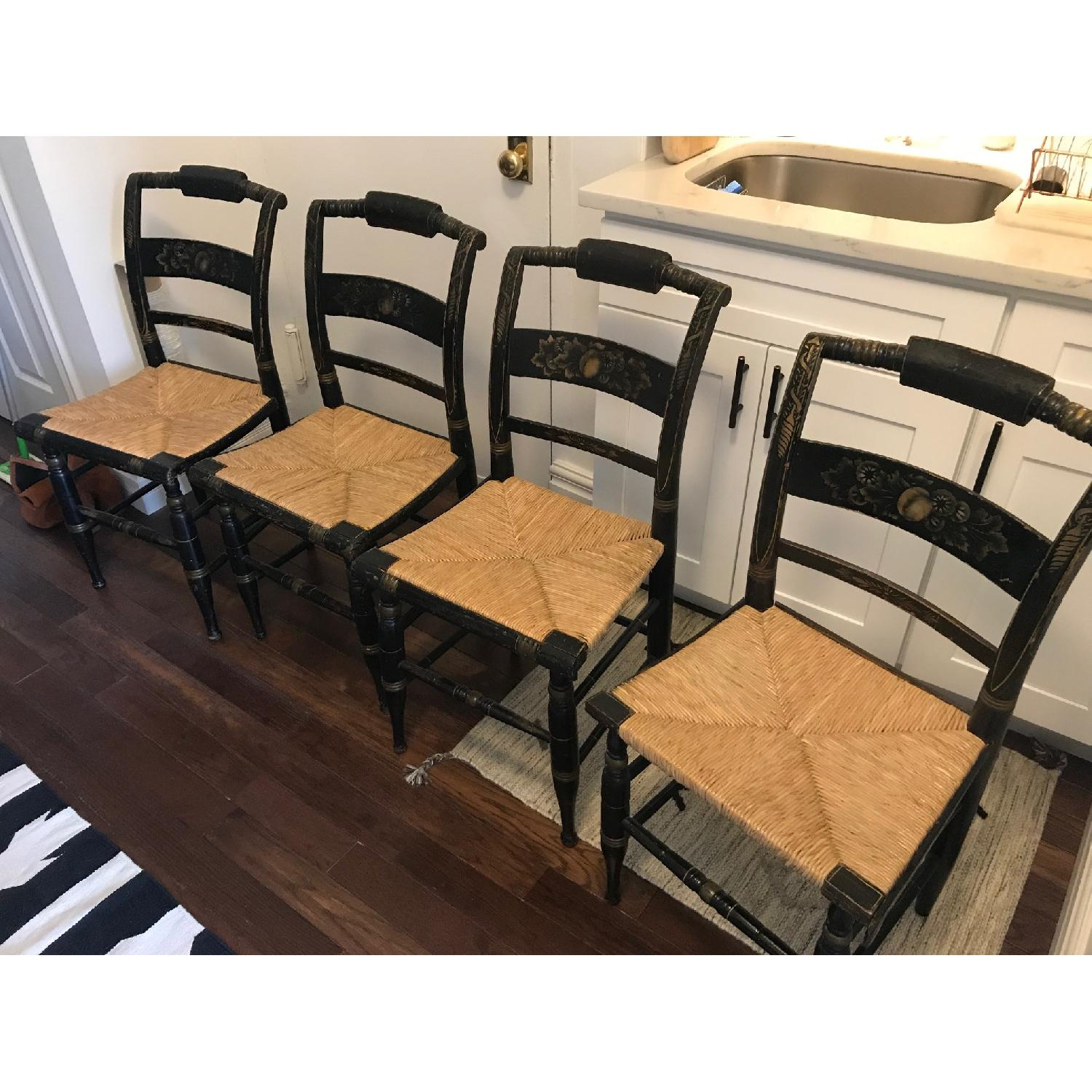 Antique Hitchcock Dining Chairs-0