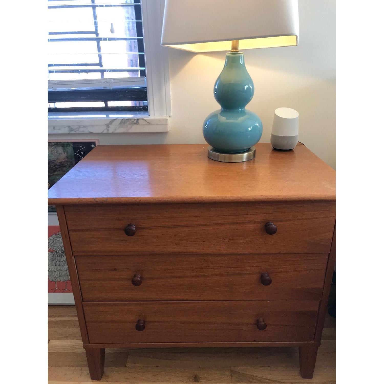 Vintage Teak Scandinavian 3 Drawer Dresser-0