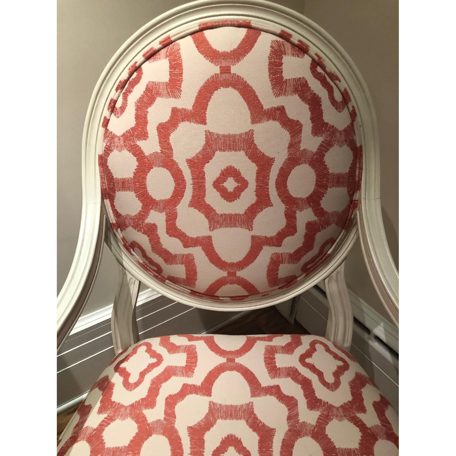 Rowe White Cushioned Accent Chairs-0