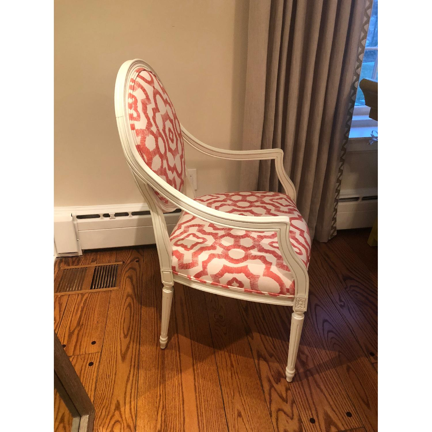 Rowe White Cushioned Accent Chairs-1