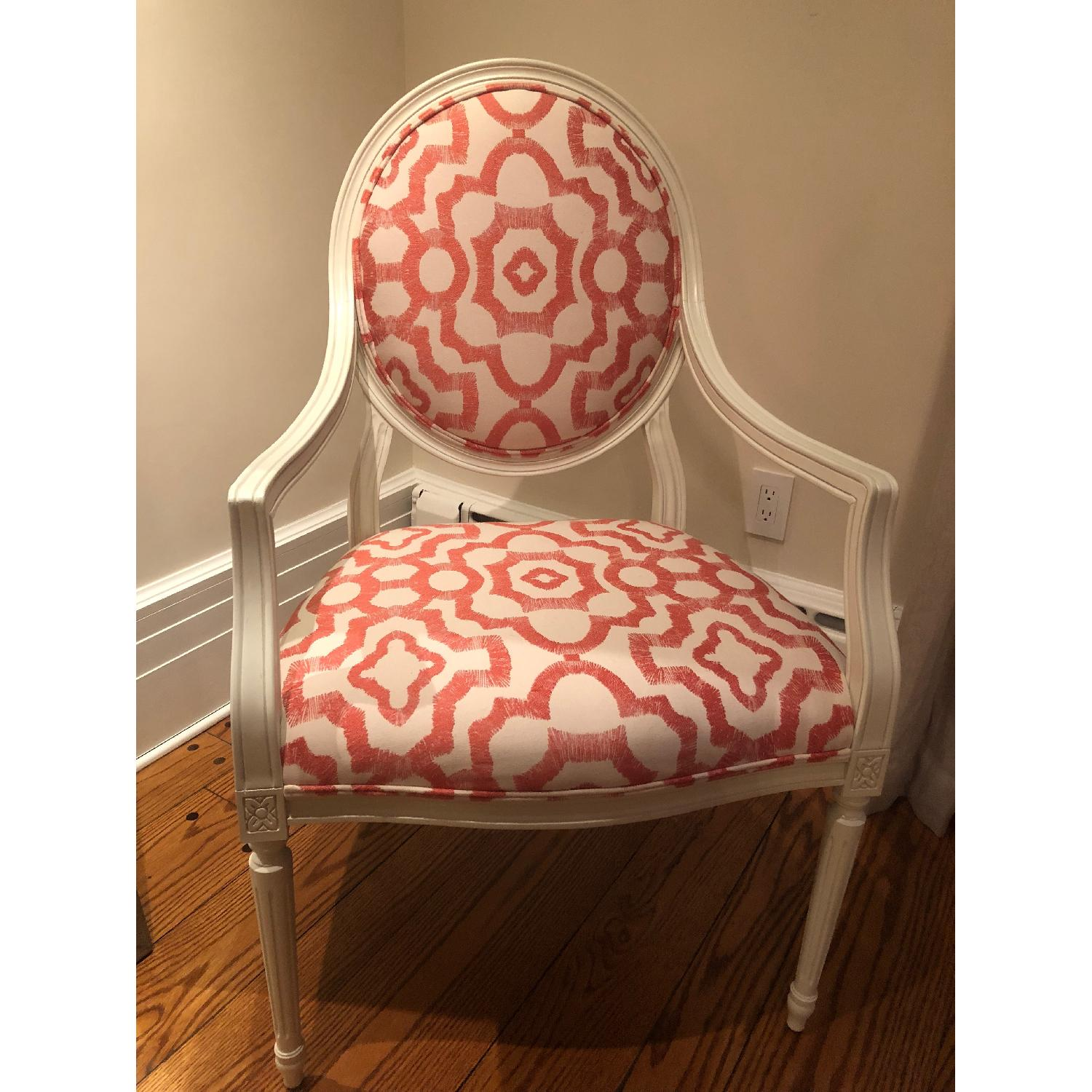 Rowe White Cushioned Accent Chairs-2