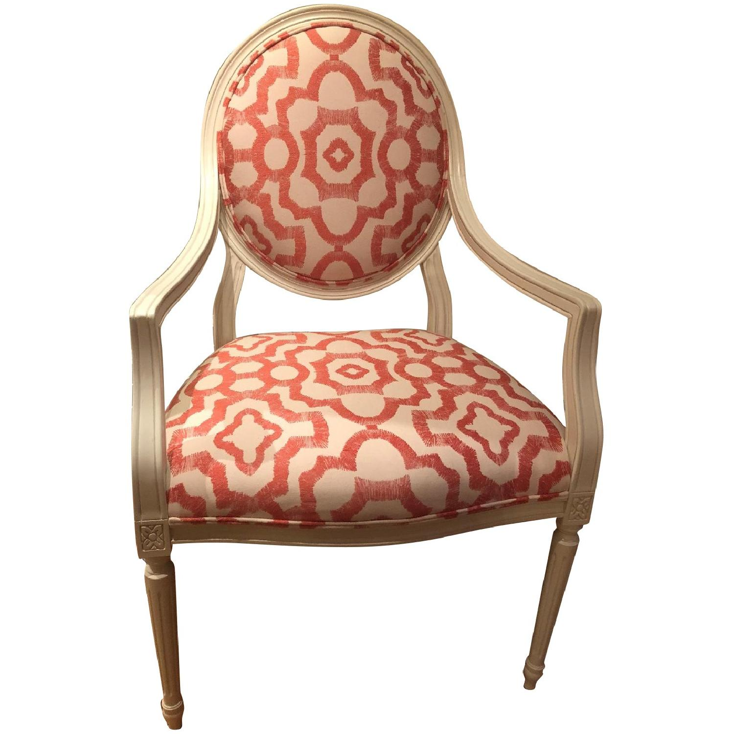 Rowe White Cushioned Accent Chairs