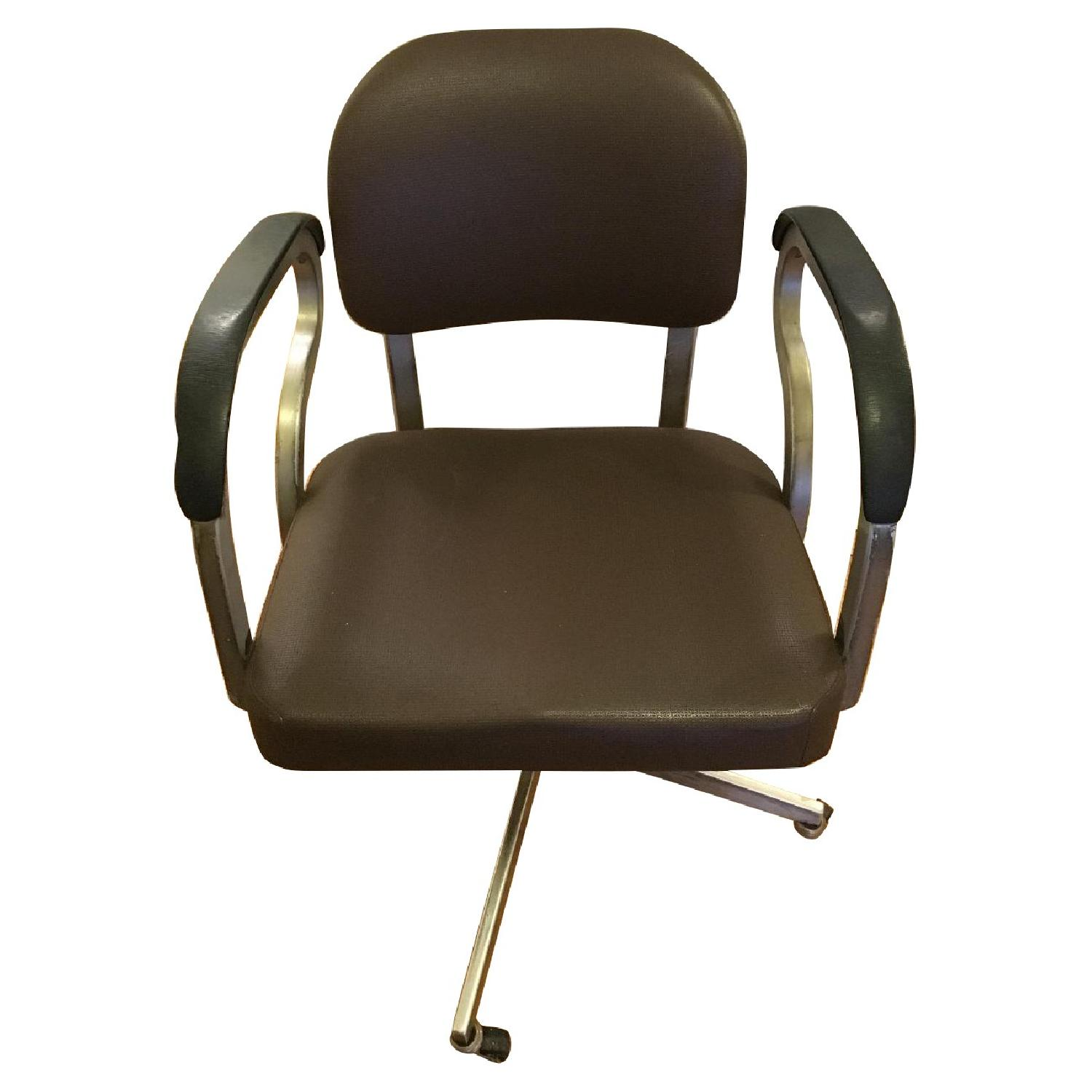Goodform Vintage Rolling Office Chair w/ Adjustable Height