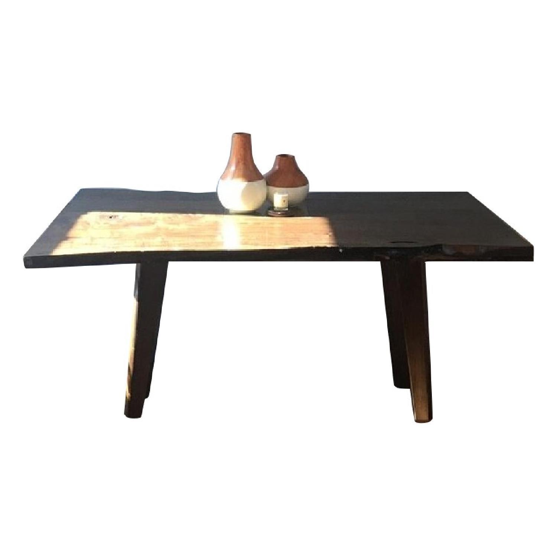 Live Edge Custom Designed Dining Table
