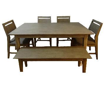 Cresent Fine Furniture 6 Piece Dining Set