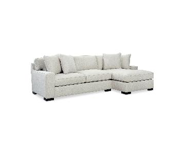 Macy's Bangor 2-Piece Sectional Sofa w/ Chaise