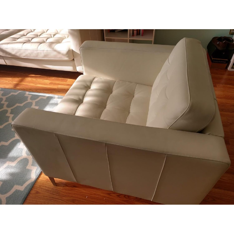 Ikea Landskrona Leather Armchair-2
