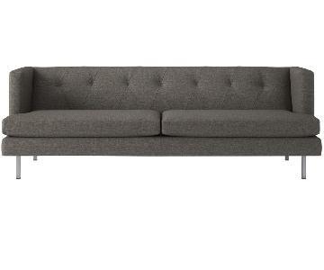 CB2 Avec Dark Grey Sofa