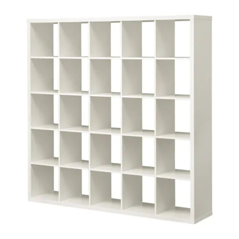Ikea Kallax Shelving Unit in High Gloss White
