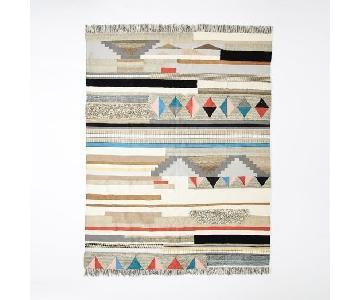 West Elm Boho Textured Wool Rug
