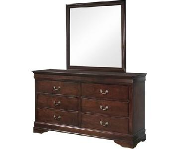 Ashley 6-Drawer Dresser w/ Mirror