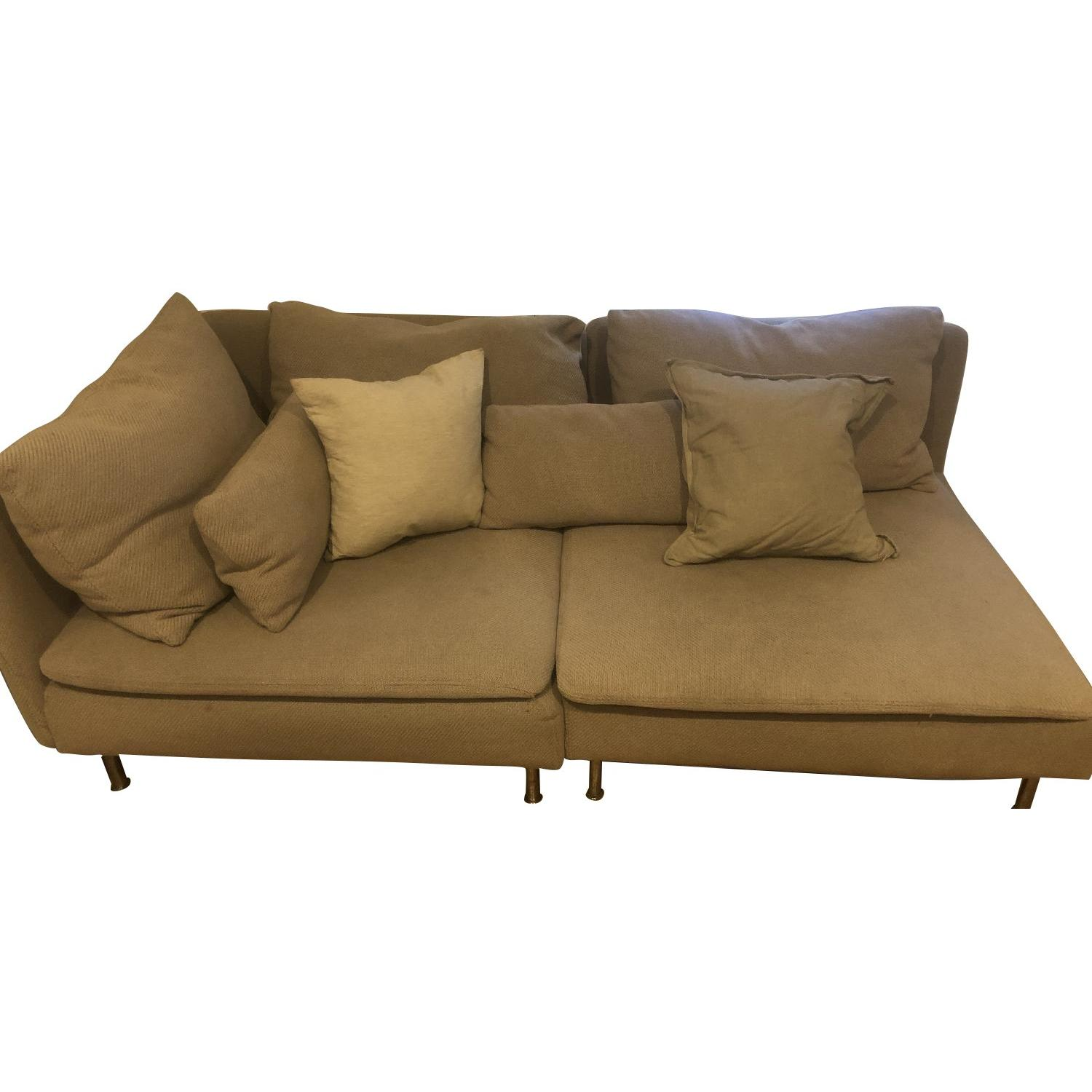 Ikea Soderhamn 2-Piece Sectional Sofa