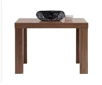 BoConcept Occa Walnut Modern Extendable Dining Table