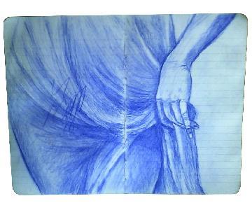 Triptych Pen Drawings