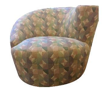 Vladimir Kagan Kagan Style Nautilus Armchairs