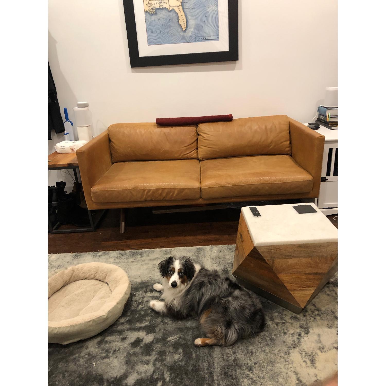 West Elm Brooklyn Sofa in Sienna Leather-0